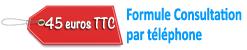 formule consultation par telephone